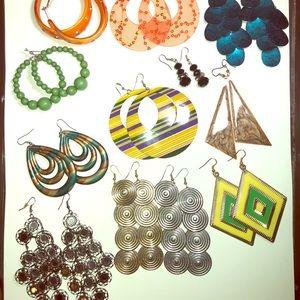 Jewelry - Earrings-all for $13